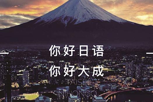 大成日语培训机构网站建设